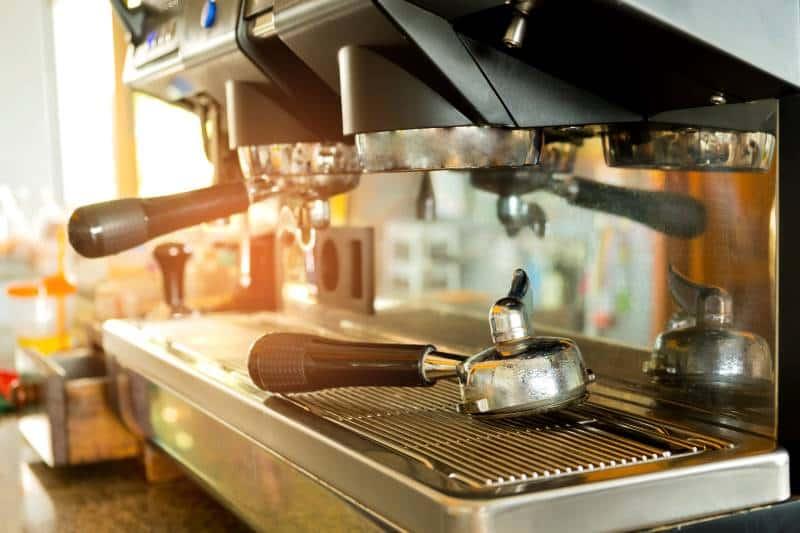 group head of an espresso machine