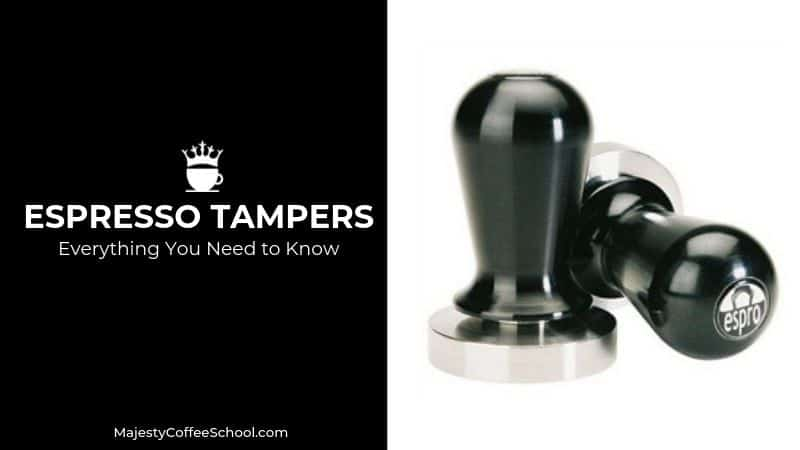 what is an espresso tamper