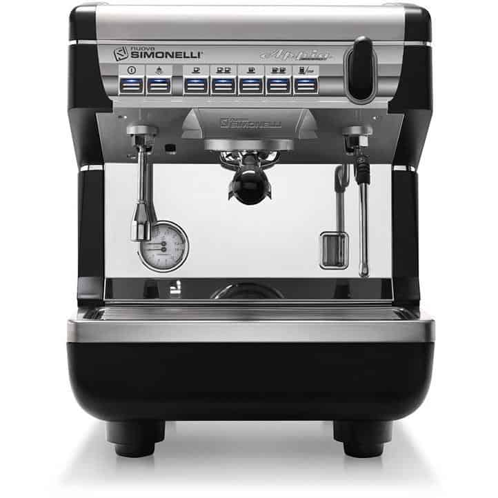 appia ii volumetric espresso machine 1 group
