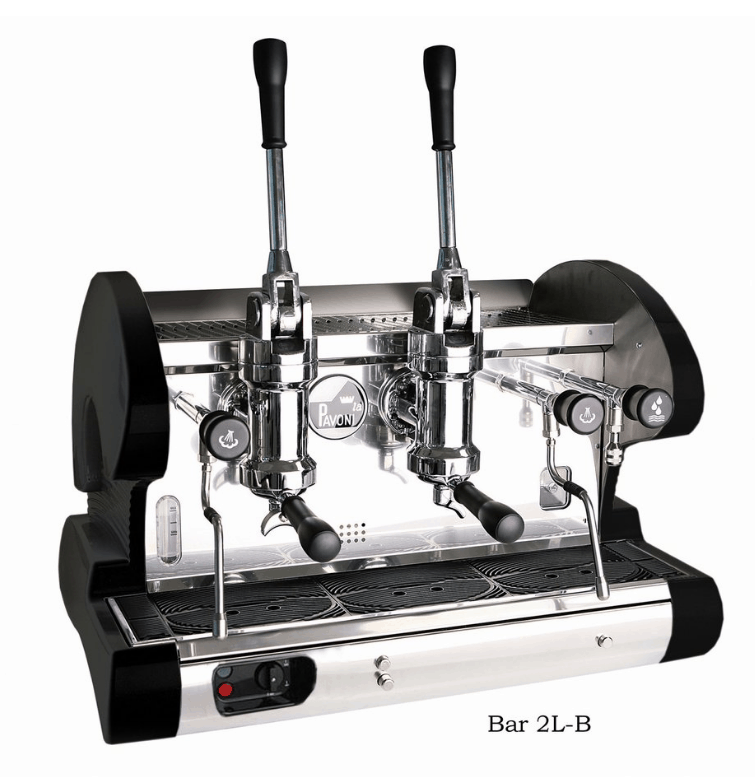 La Pavoni 2 Group Commercial Lever Espresso Machine BAR 2L BAR 2L-B