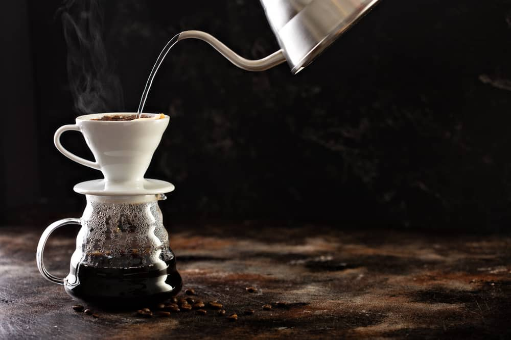 travel pour over coffee maker ceramic