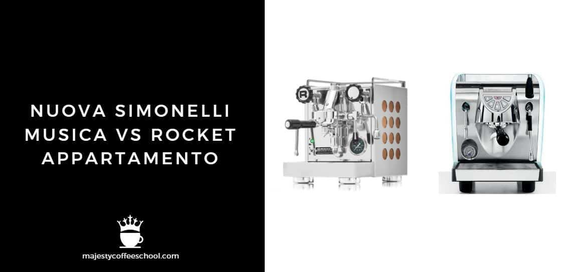 Nuova Simonelli Musica Vs Rocket Appartamento Majesty Coffee School