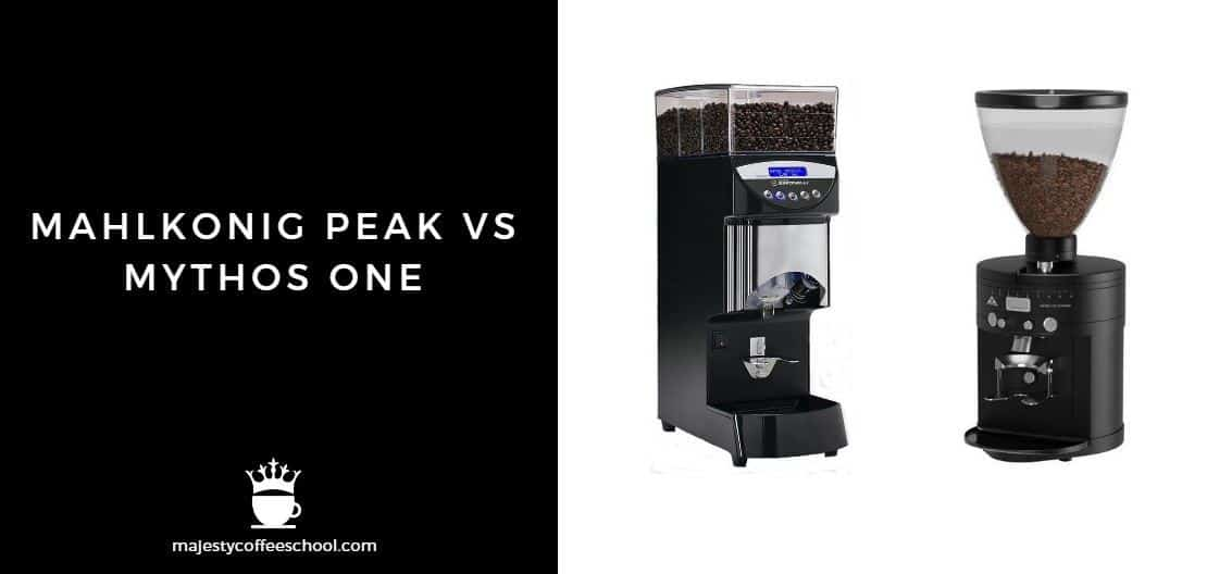 mahlkonig peak vs mythos one by nuova simonelli