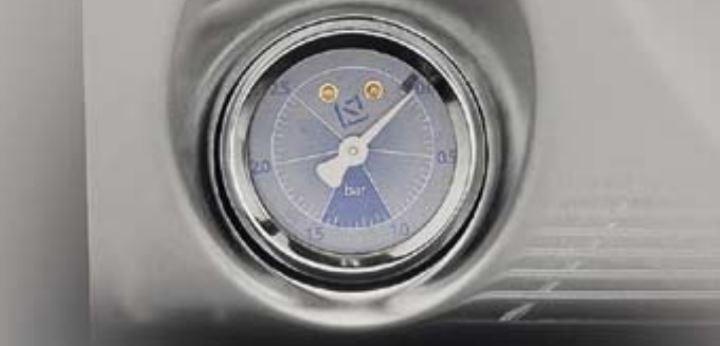 pressure gauge musica espresso machine