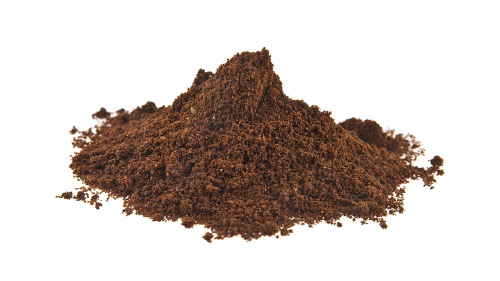 Ground coffee for nitro cold brew