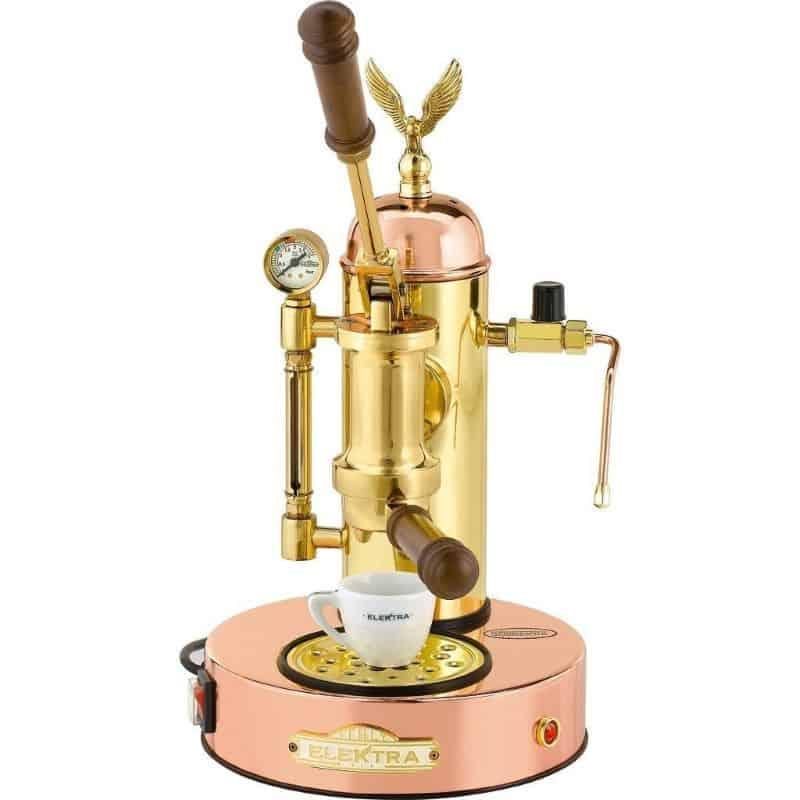Elektra Micro Casa Espresso Machine Copper and Brass Art.S1