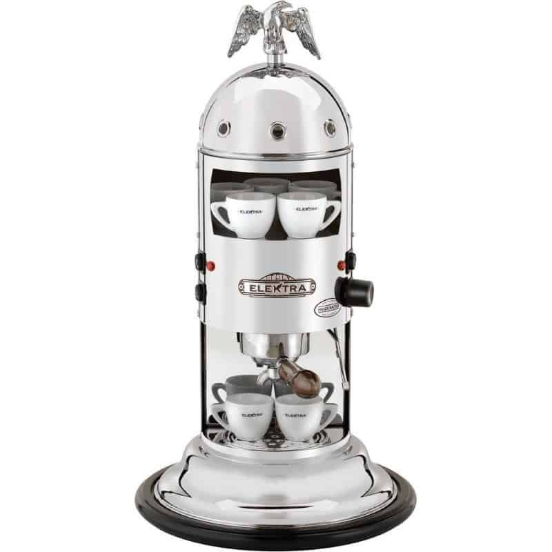 Elektra Mini Verticale Espresso Machine A1 Chrome