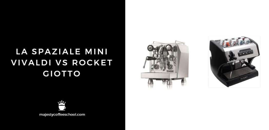 LA SPAZIALE MINI VIVALDI VS ROCKET GIOTTO