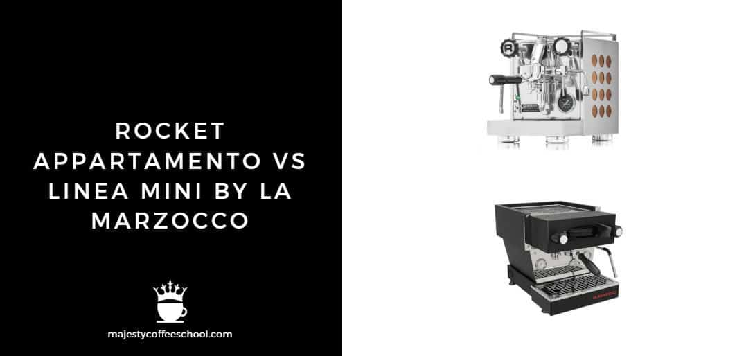 ROCKET APPARTAMENTO VS LINEA MINI BY LA MARZOCCO