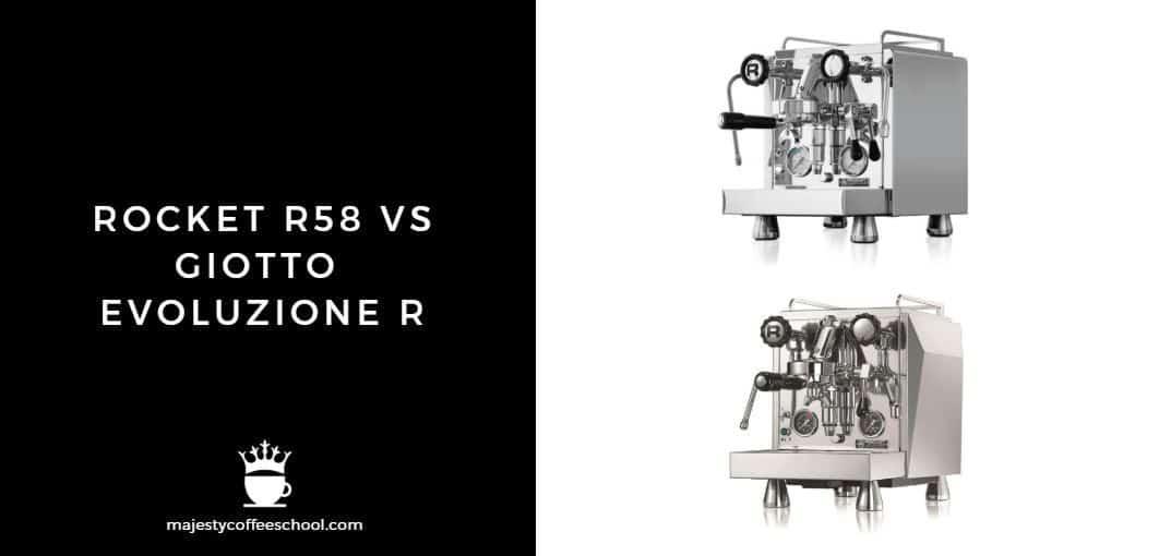 ROCKET R58 VS GIOTTO EVOLUZIONE R