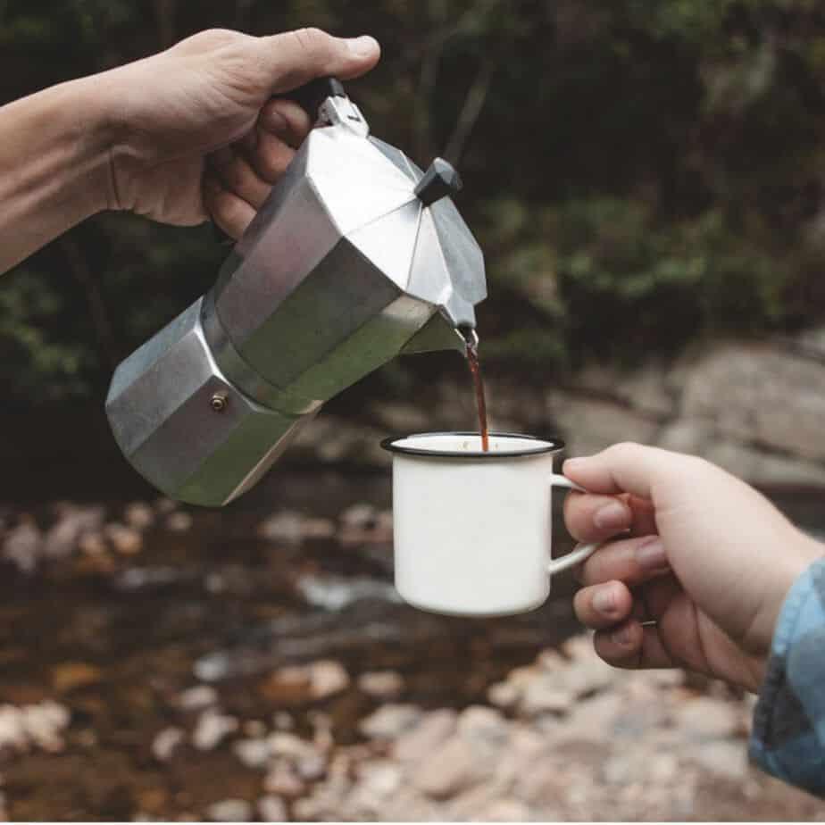 coffee grind size for moka pot