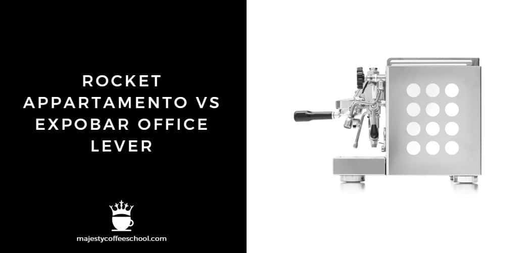 rocket appartamento vs expobar office lever