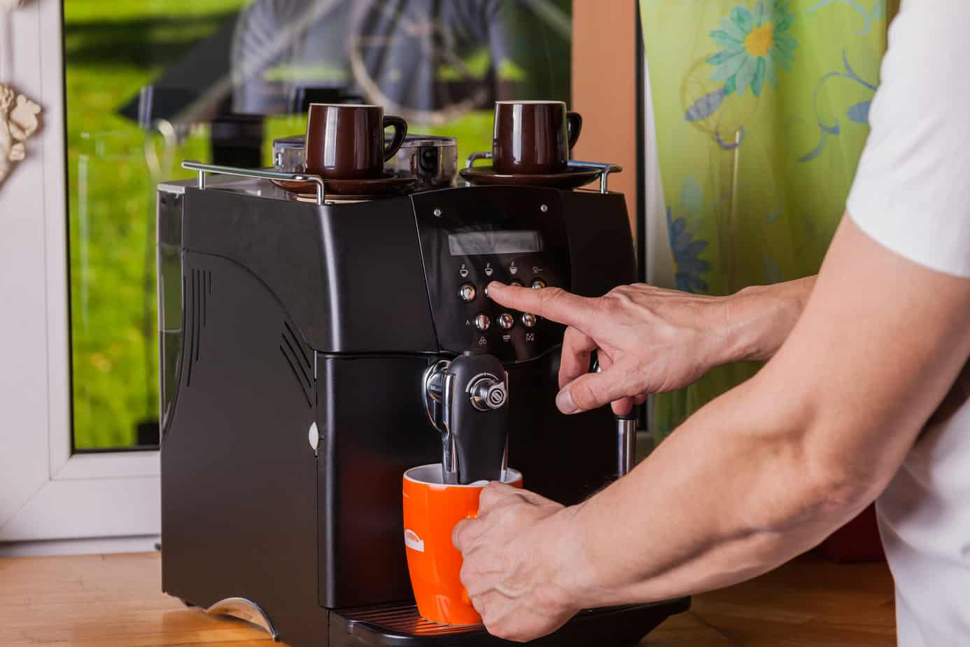 One Touch Commercial Espresso Machine Small Business