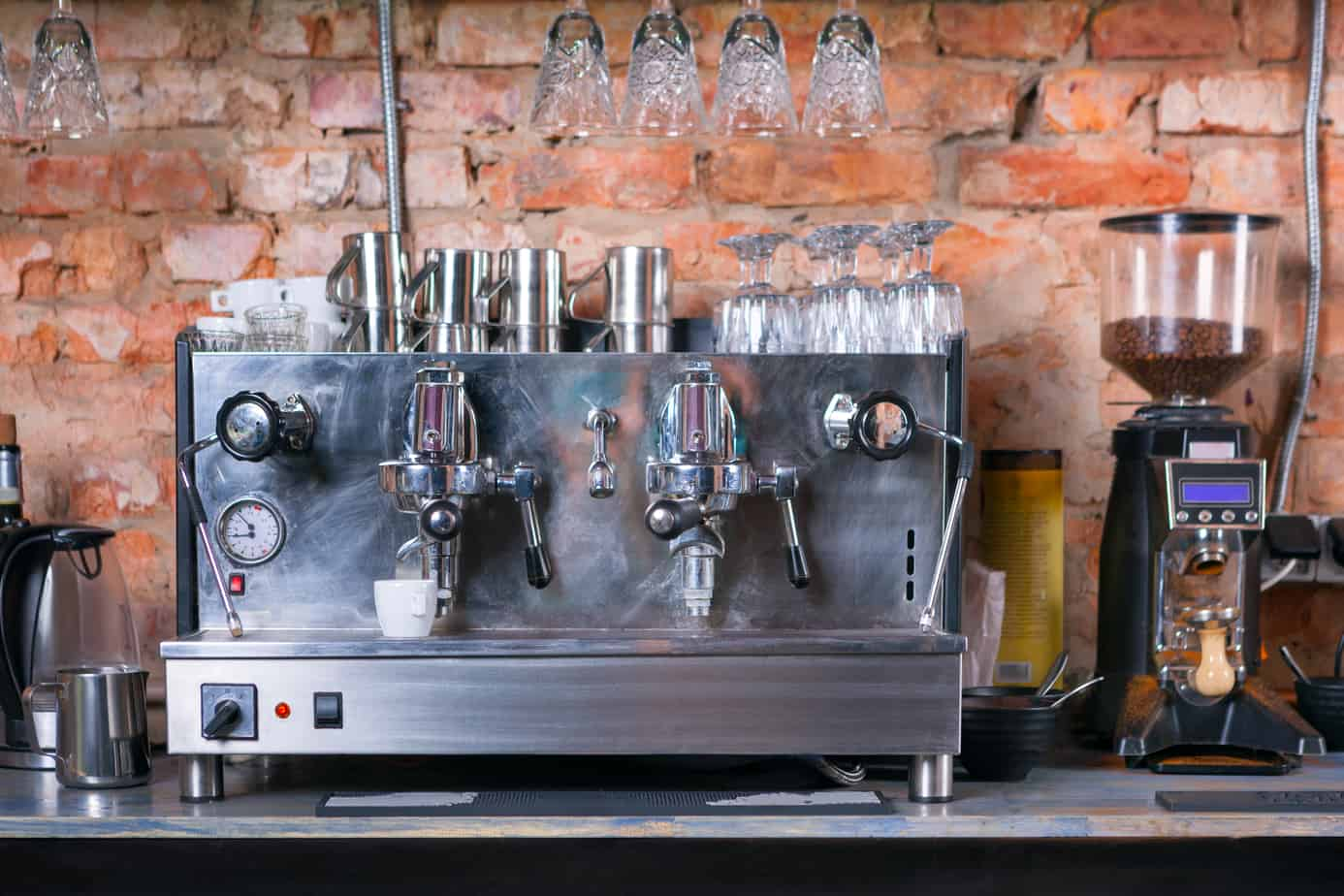 Small Coffee Shop Espresso Machine System