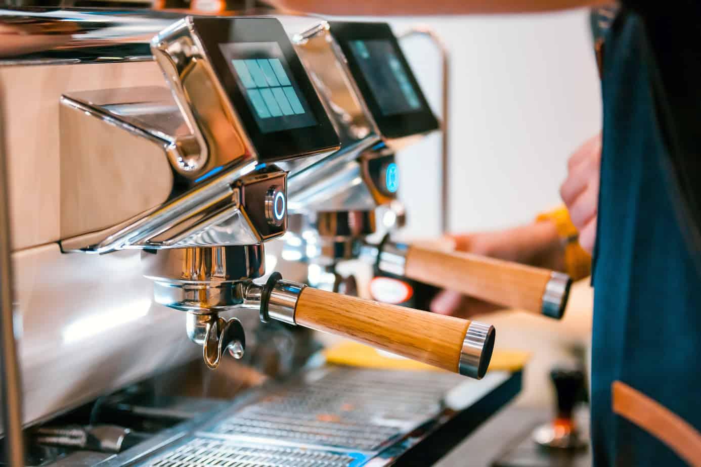 super automatic commercial espresso machine