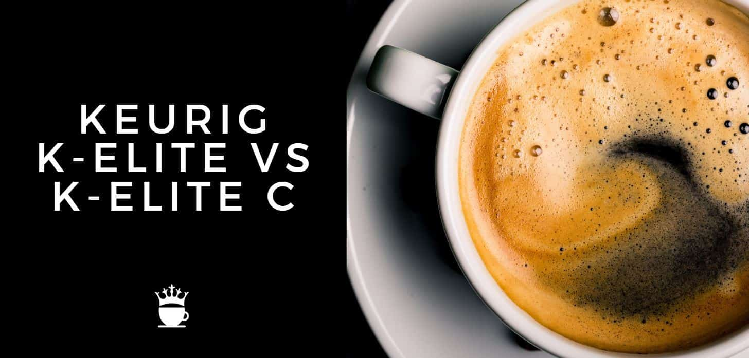 keurig k elite vs k elite c