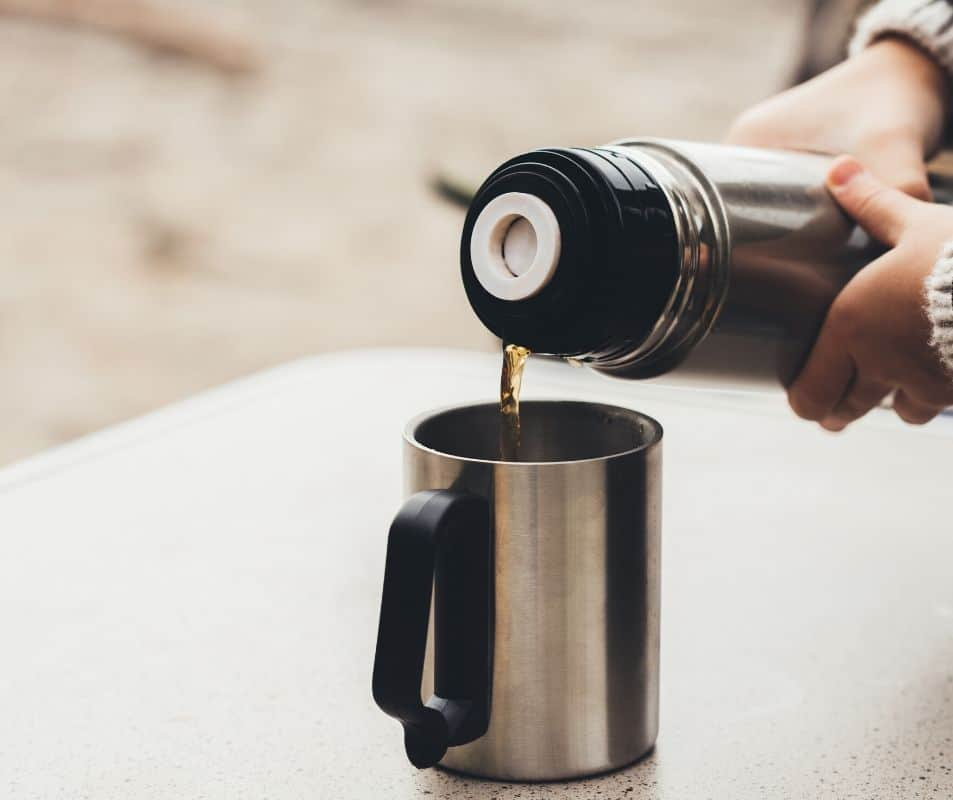 stainless steel travel mugs to keep coffee hot