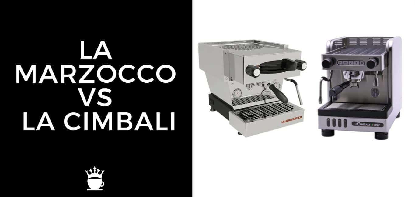 La Marzocco vs La Cimbali