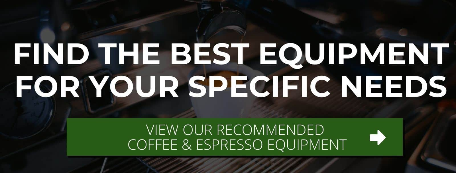 find the right espresso equipment for your needs
