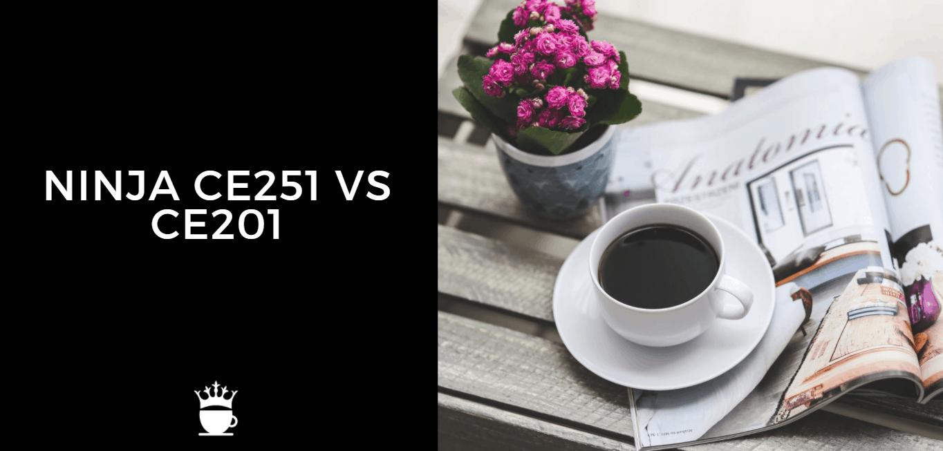 Ninja CE251 vs CE201