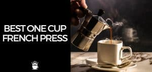 Best One Cup French Press