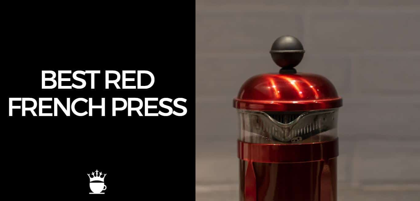 Best Red French Press