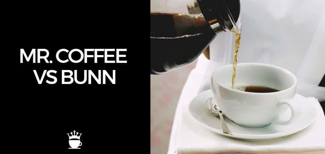 Mr Coffee vs Bunn